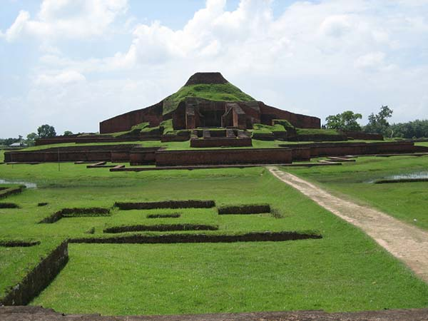 Ruins of the Buddhist Vihara